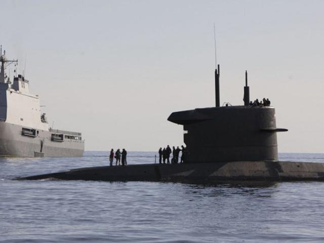 Célegyesben az új holland tengeralattjárók