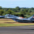 Megsérült egy lengyel MiG-29-es vadászgép