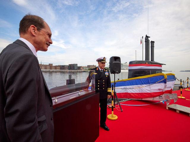 Egyiptom megkapta negyedik tengeralattjáróját is