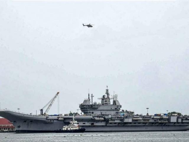 Újabb késés az Indiában épített repülőgép-hordozó esetében