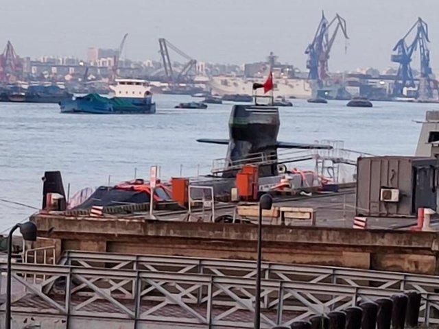 Fotók egy új kínai tengeralattjáróról