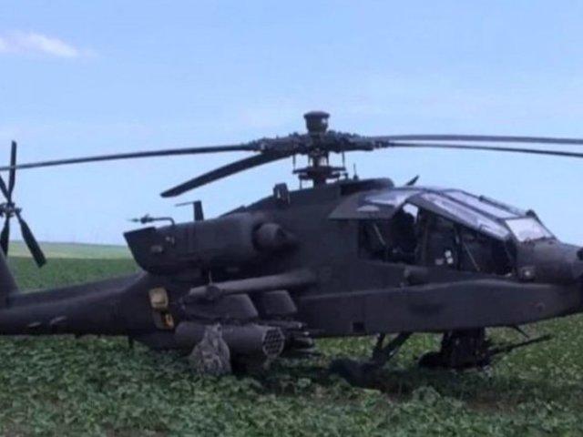 Amerikai Apache helikopter kényszerleszállást hajtott végre Romániában