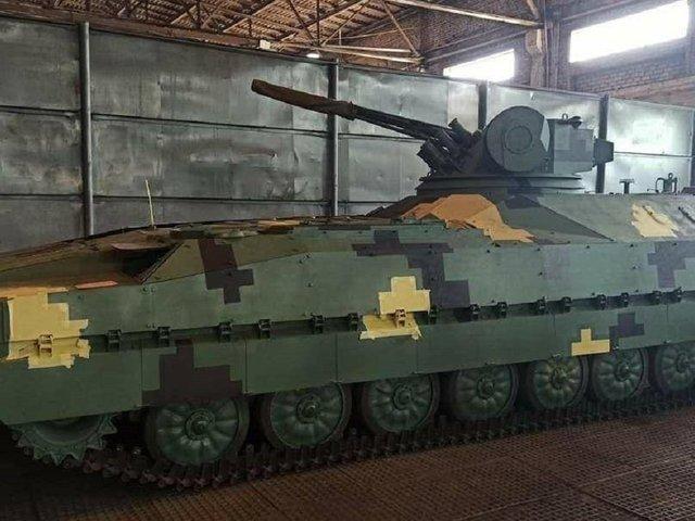 Ukrajnában hamarosan bemutatják az egyik hazai fejlesztésű gyalogsági harcjárművet