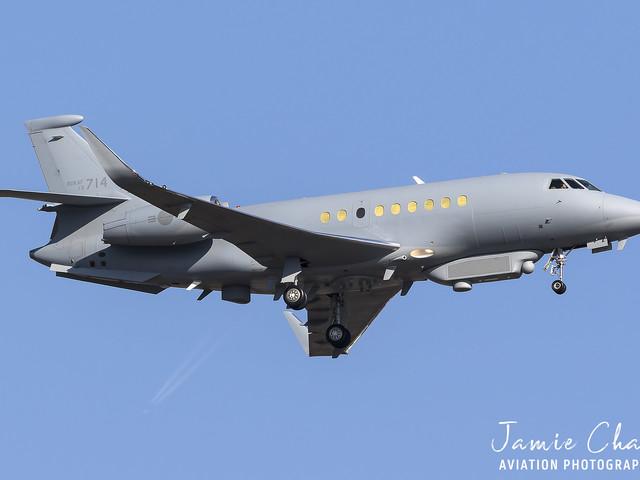 Dél-Korea Falcon 2000S repülőgépeket vásárol kémkedés céljaira