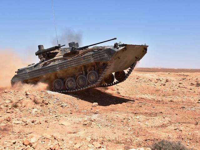 Algériában befejeződött a BMP-2-ek korszerűsítése