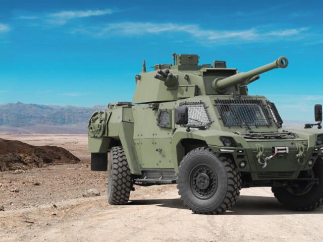 Bemutatták az AKREP IId páncélozott felderítő jármű új változatát