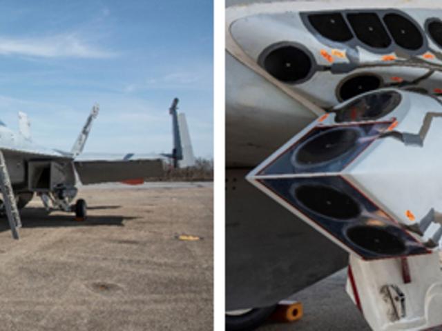 Új célzókonténerrel repült a Super Hornet