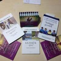 Gary Chapman könyveink érkeztek...