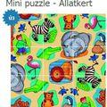 Puzzle mint fejlesztő játék
