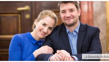 """""""Amikor mi összeházasodtunk, nem tűnt el az én, hanem létrejött egy közös mi"""" – Madarász Isti és Kerekes Monika a Mandiner.családnak"""
