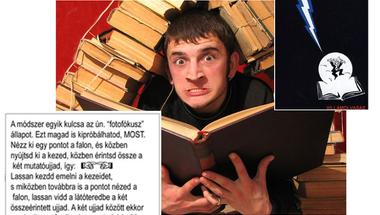 Hatékony tanulás - villámolvasás