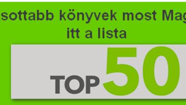 Ezek a legolvasottabb könyvek most Magyarországon - itt a lista