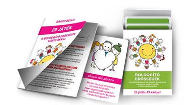 BOLDOGÍTÓ ERŐSSÉGEK személyiségfejlesztő kártyajáték gyerekeknek