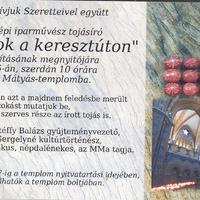 """""""Hímes tojások a keresztúton"""" - Mosonyi Éva kiállítása a Mátyás templomban"""