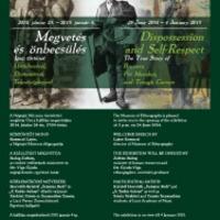 Megvetés és önbecsülés -  Igaz történet Üstfoltozóról, Drótostótról és Teknőscigányról - kiállítás a Néprajzi Múzeumban