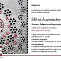 Élő néphagyományok a Galga mentén - a Galgamácsai Népművészeti Egyesület kiállítása