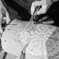 Jó gyakorlat a  balatonendrédi vert csipke hagyományának megőrzése az iskolai oktatásban