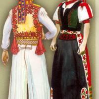 Kalotaszegi viselet, varrottas, zene, tánc