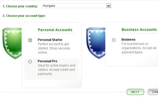 AlertPay számlanyitási segédlet magyarul