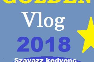 Golden vlog 2018 közösségi szavazás.