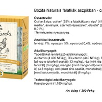 Kutyakonzerv teszt - Bozita naturals falatkák aszpikban