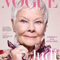 Judi Dench 85 évesen lett a legidősebb Vogue címlaplány