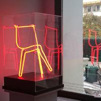 Neonba oltva - Hérics Nándor kiállítása