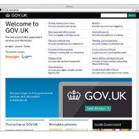 Design of The Year 2013 nyertese a brit kormányzati portál