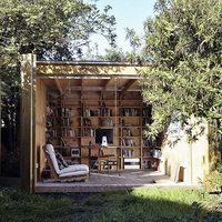 Fészerből kerti iroda