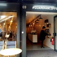 #guardiancoffee  avagy itt dolgoznak a Guardian újságírói
