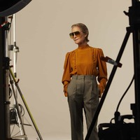 Charlotte Rampling 74 évesen még mindig múzsa
