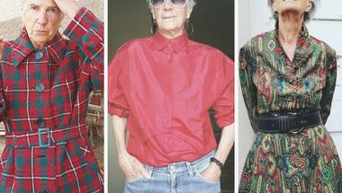 A stílus nem kor kérdése - a 90 éves Teresa az Instan inspirál évtizedes ruháival