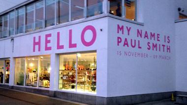 Paul Smith kiállítás Londonban