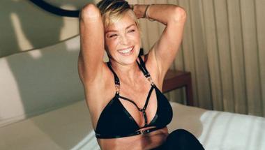 Sharon Stone hatvanéves lett