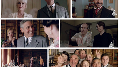 George Clooney a Downton Abbey-ben