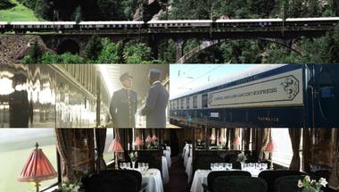 Budapesten járt a világ legmenőbb vonata!