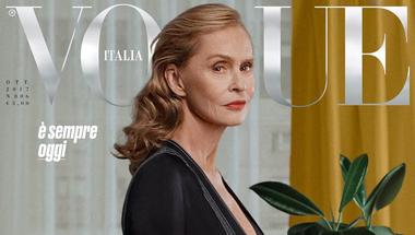 Az olasz Vogue a komplett októberi számát a 60 feletti nőknek írta