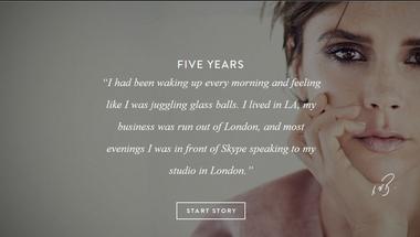 Victoria Beckham és a nagy Skype project
