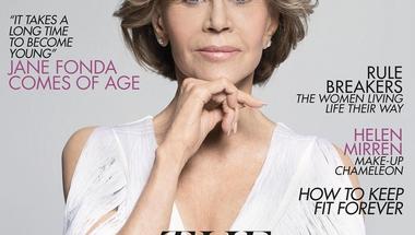Jane Fonda a Vogue legidősebb címlaplánya 81 évesen, Celine Dion a L'Oréal nagykövete 51 évesen