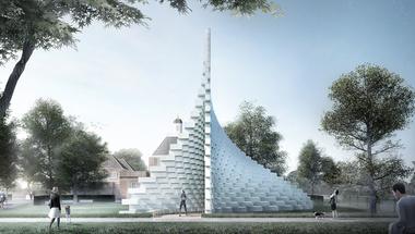 Új koncepcióval frissít a londoni Serpentine: a pavilon mellé 4 nyári házat is felhúznak