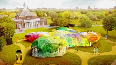Ilyen lesz az idei londoni Serpentine Pavilon