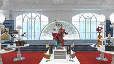 Megnyitott a világ legnagyobb Christian Louboutin üzlete a londoni Harrodsban