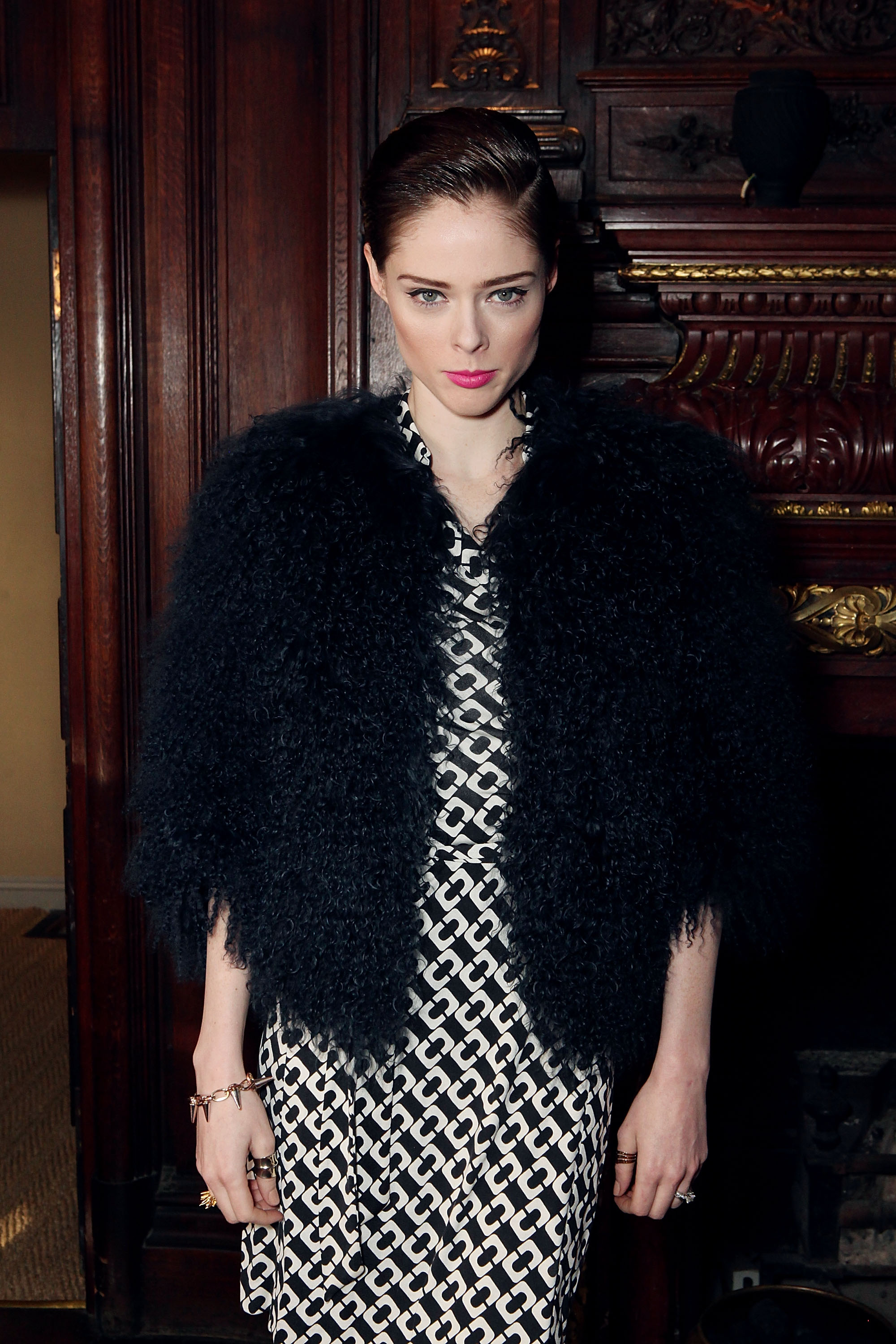 Coco Rocha<br /> Photo by David M. Benett/Getty Images for Pringle of Scotland