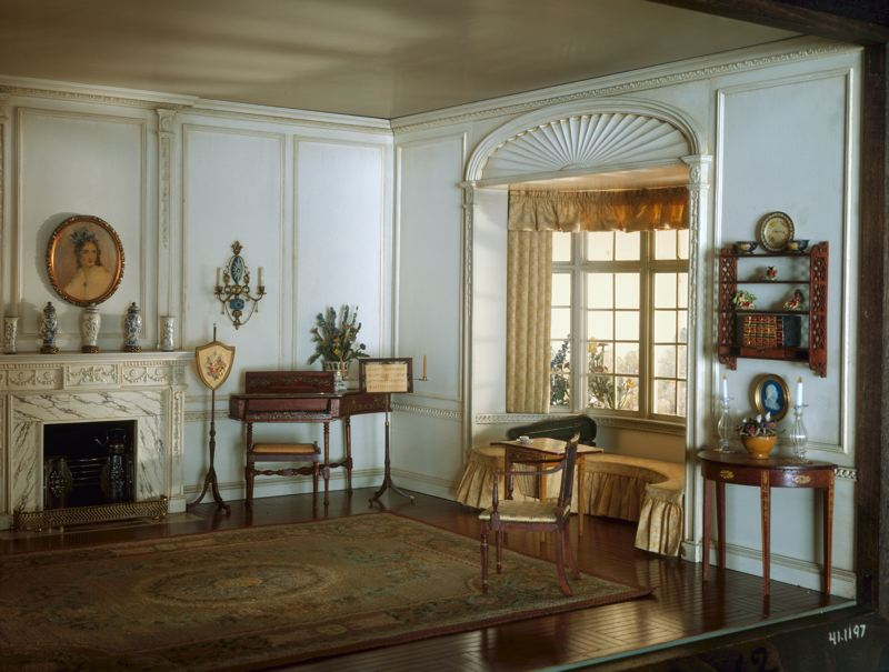 English Drawing Room of the Georgian Period, c. 1800, c. 1937.jpg