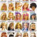 Barbie evolúció
