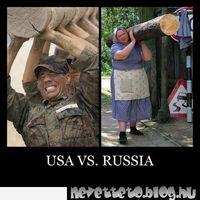 USA kontra Oroszok