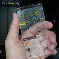 Ma esős idő lesz, jelzi az új Iphone