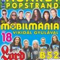 2018.08.18-19-20 Popstrandi hármas - Gárdony, Agárd, Velence