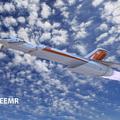 Ez a konceptuális sugárhajtású repülő 30 perc alatt szállna Londonból New York-ba
