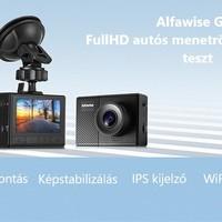 Alfawise G70 teszt - A megfizethető árú FullHD autós menetrögzítő